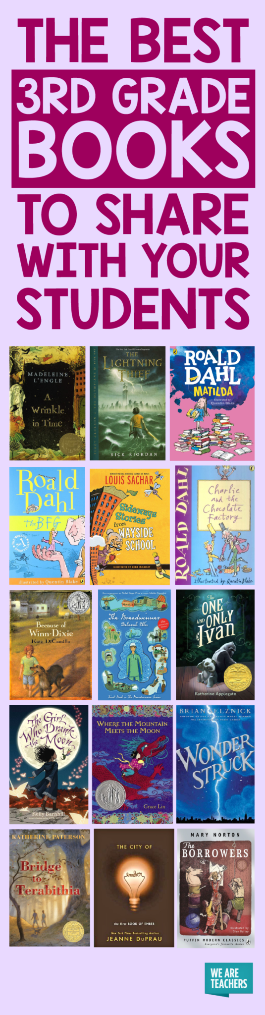 Best 3rd Grade Books As Chosen By Teachers Weareteachers