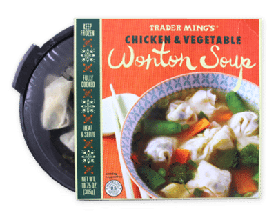 Chicken and Vegetable Wonton Soup