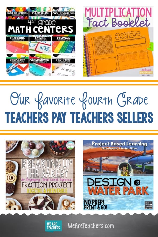 Our Favorite Fourth Grade Teachers Pay Teachers Sellers
