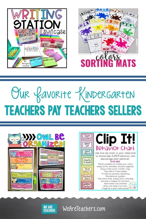 Our Favorite Kindergarten Teachers Pay Teachers Sellers