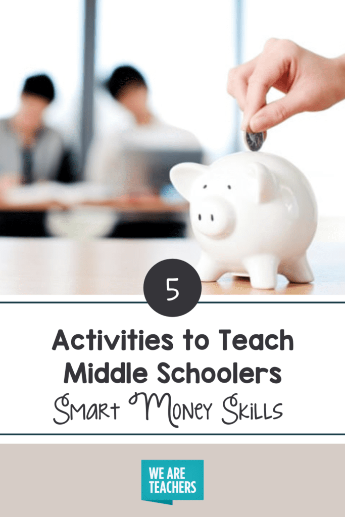 5 Money Myths Middle Schoolers Believe and Activities To Teach Smart Money Skills