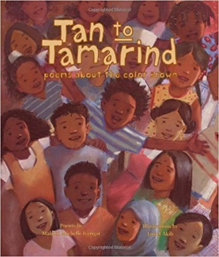 Book cover for Tan to Tamarind: Poems About the Color Brown