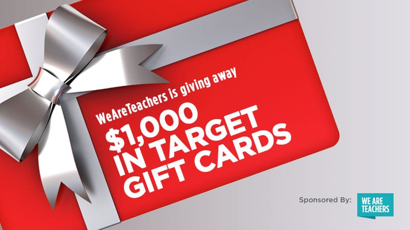 Weareteachers is giving away 1000 in target gift cards weareteachers weareteachers is giving away 1000 in target gift cards negle Image collections