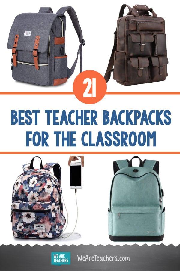 The 21 Best Teacher Backpacks to Replace Your Bulky Teacher Bag