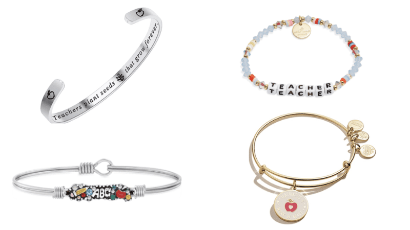Teacher Bracelet Options for Gifts