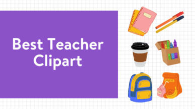 Best teacher clipart on purple background and clipart images.