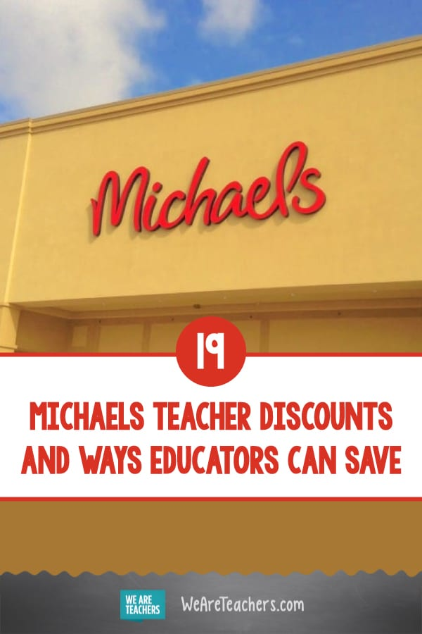 19 Michaels Teacher Discounts and Ways Educators Can Save