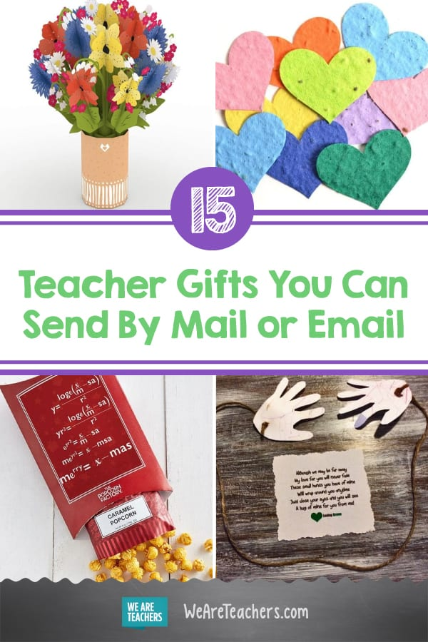 The Best Teacher Gifts You Can Send By Mail or Email