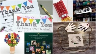 Teacher Gifts Mail and Email