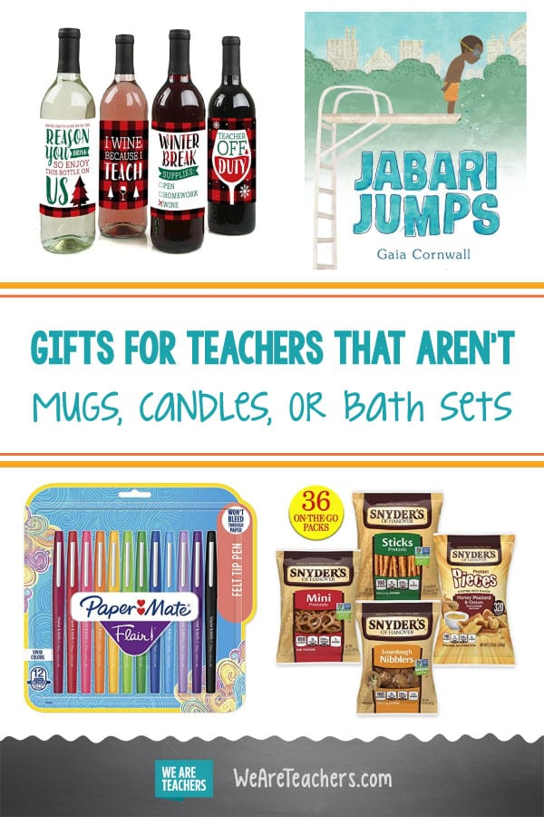 The Best Gifts for Teachers That Aren't Mugs, Candles, or Bath Sets
