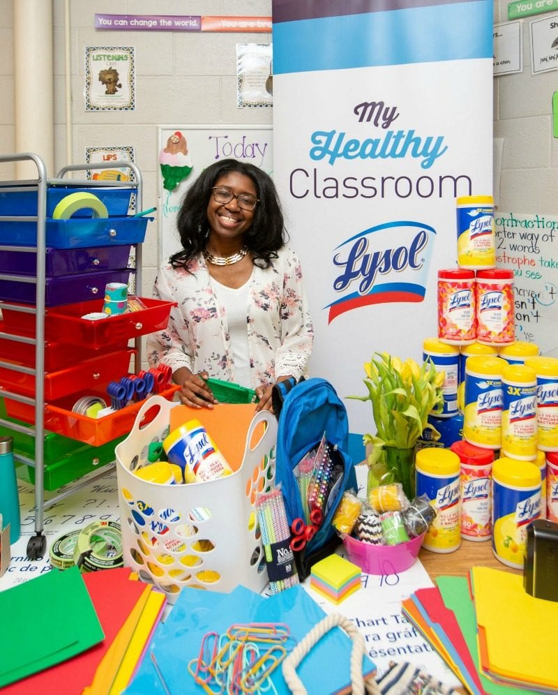 Calling All Teachers! This Lysol Giveaway Is Amazing