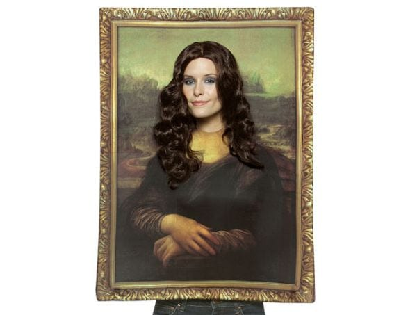 Teacher Halloween Costumes Mona Lisa