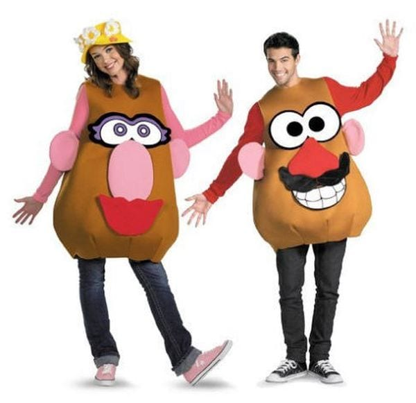 Teacher Halloween Costumes Potato Head