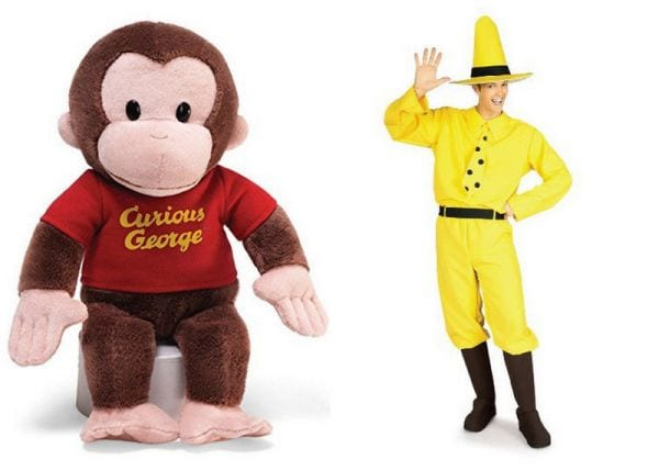Teacher Halloween Curious George