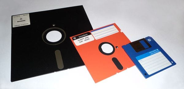 Teacher Nostalgia Floppy Disk George Chernilevsky