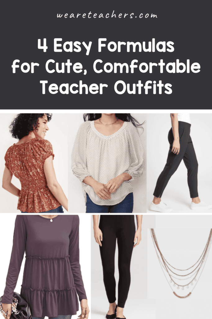 4 Easy Formulas for Cute, Comfortable Teacher Outfits (at any Price Range)
