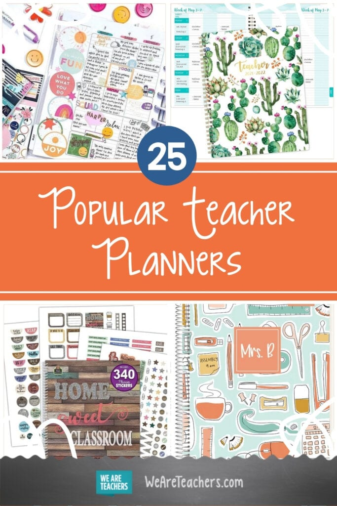 These Popular Teacher Planners Will Keep You On Track All Year Long