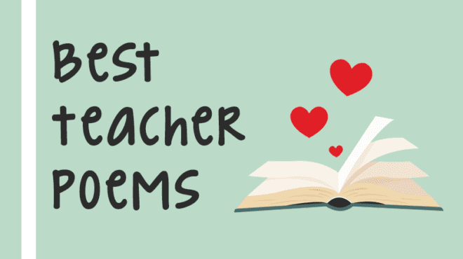 12 of Our Favorite Poems About Teaching