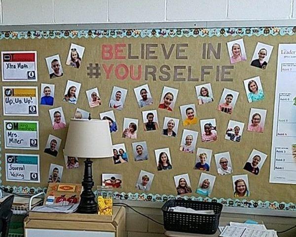 Teacher Selfies Classroom Katrina M