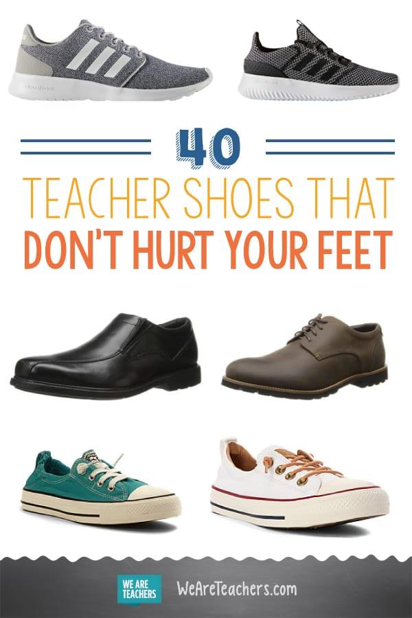 40 Teacher Shoes That Don't Hurt Your Feet