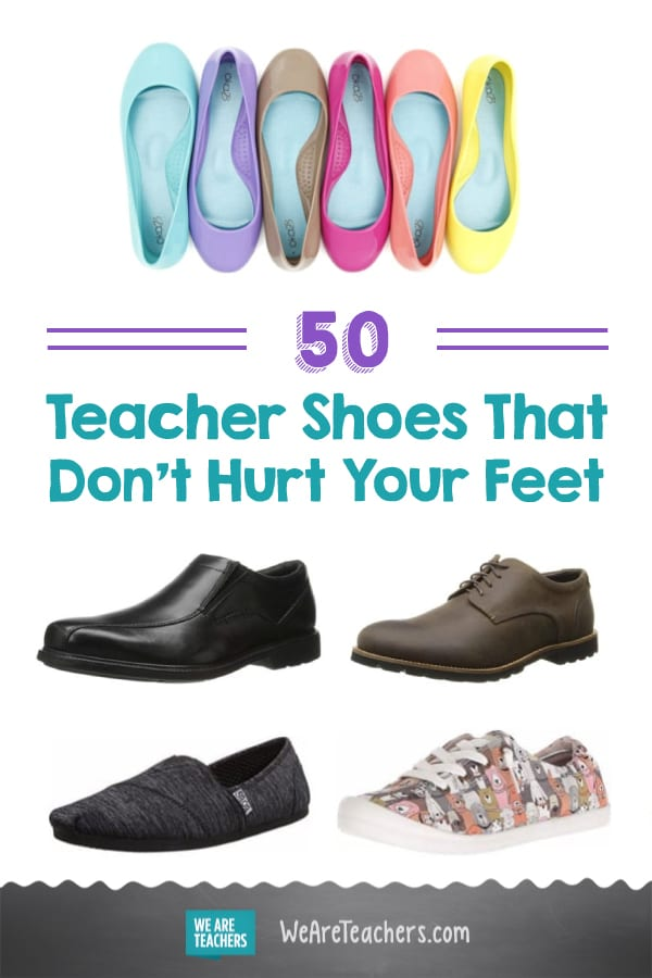 Teacher Shoes That Don't Hurt Your Feet, According to