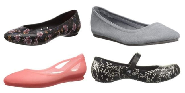 "f478f6f7c951 ""I have Crocs flats in every color and print."" —Amy C."