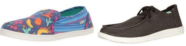 Sanuk women's and men's shoes
