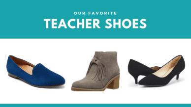 Our favorite teacher shoes.
