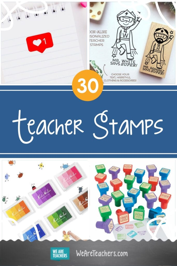 30 of the Cutest, Most Helpful Teacher Stamps