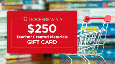 Teacher Created Materials Giveaway