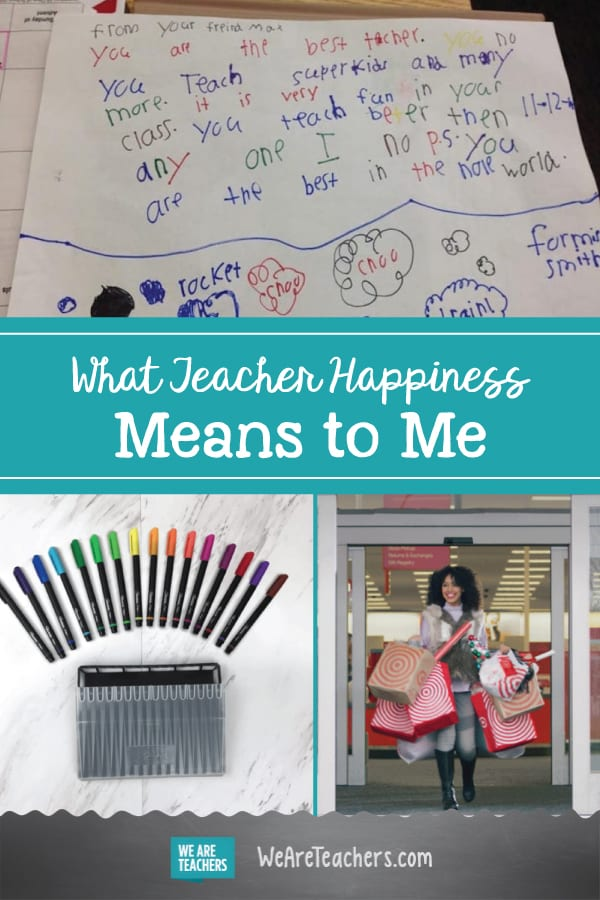What Teacher Happiness Means to Me