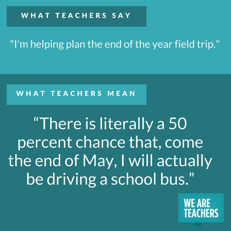 what teachers say about field trips