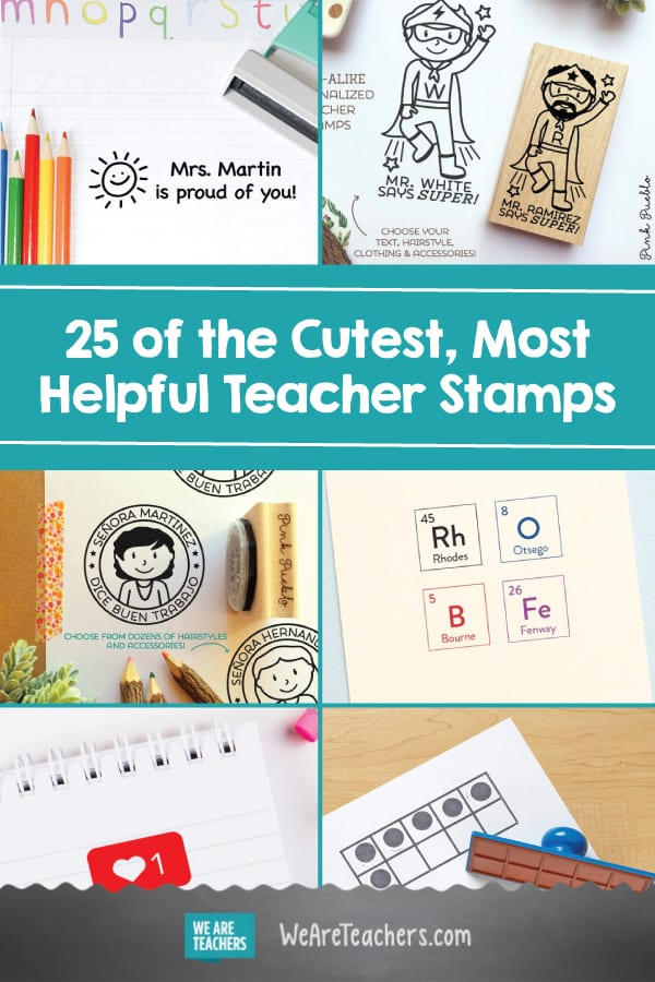 25 of the Cutest, Most Helpful Teacher Stamps