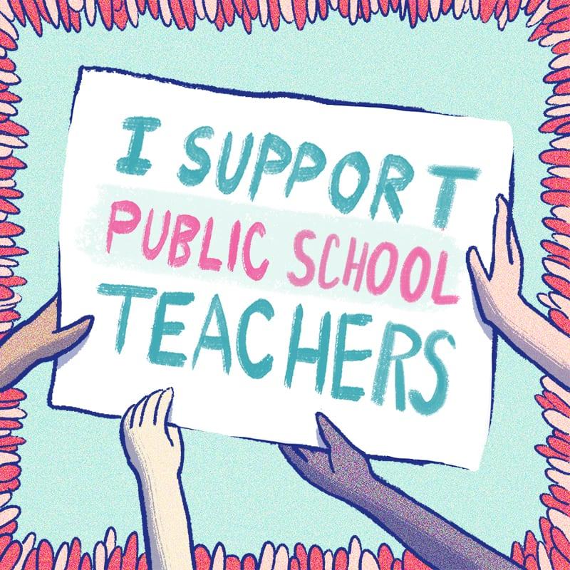 Teacher Strike Public Schools