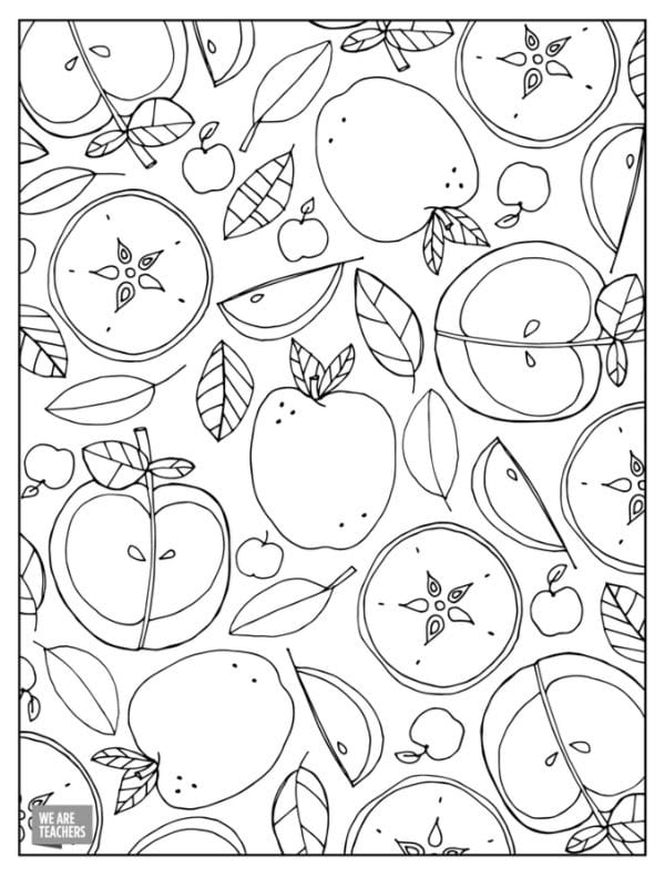 13 Free Adult Coloring Pages for Stressed Out Teachers