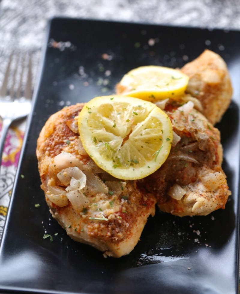 Teacher_Instant_Pot_Lemon_Garlic Chicken