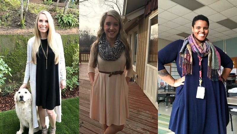 07f7bc58be0a 13. Because a little twirl factor never hurt … Casual Dresses for Teachers  ...