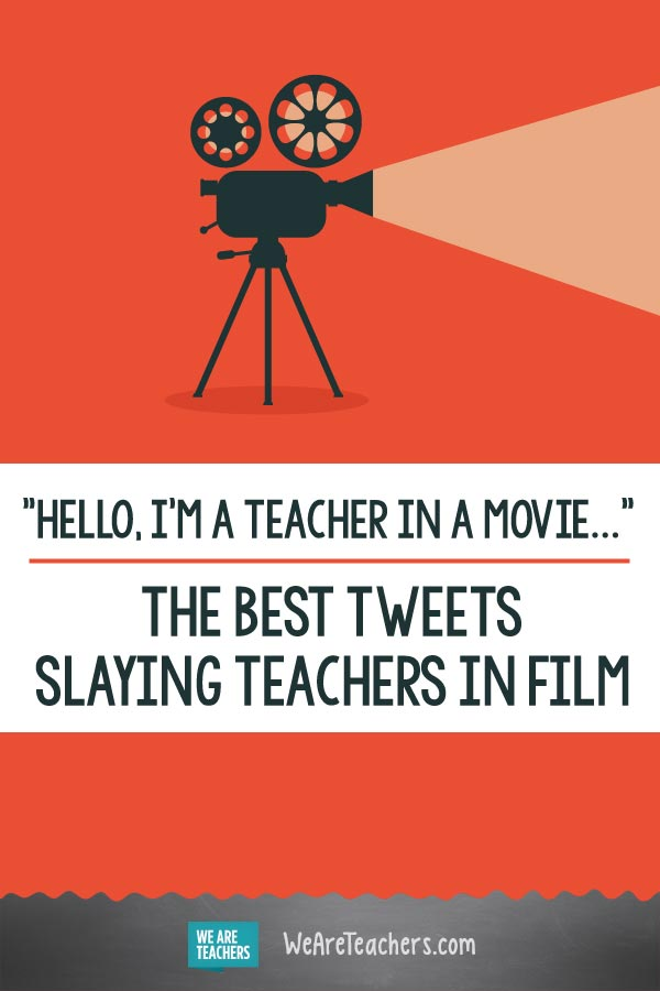 Hello, I Am a Teacher in a Movie