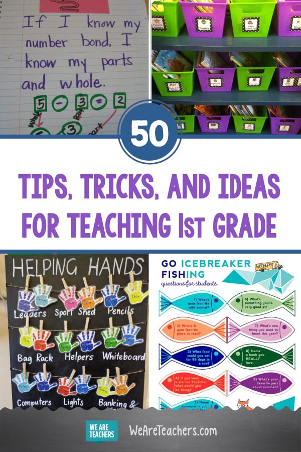 50 Tips, Tricks, and Ideas for Teaching 1st Grade