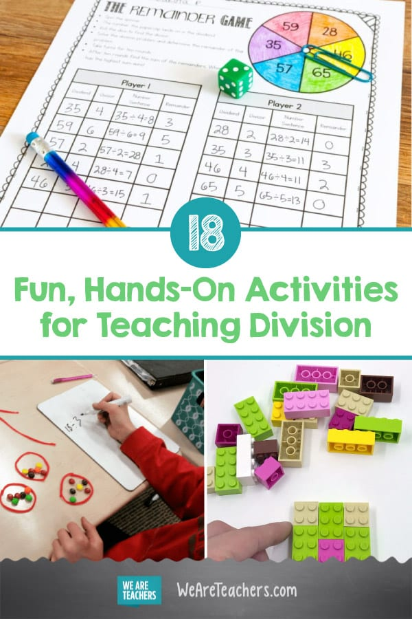 18 Fun Hands-on Activities for Teaching Division
