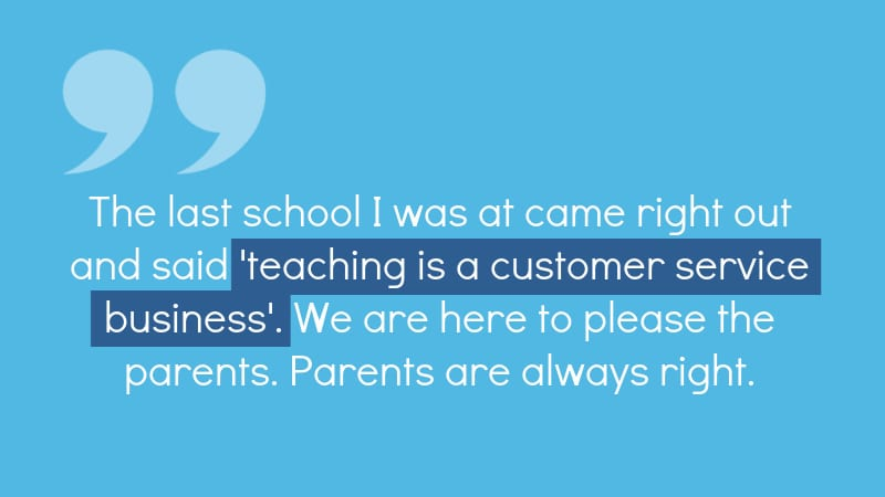 Teaching Isn't Customer Service--WeAreTeachers