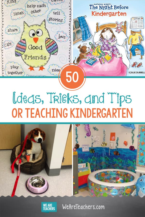Teaching Kindergarten: 50 Tips, Tricks, and Ideas