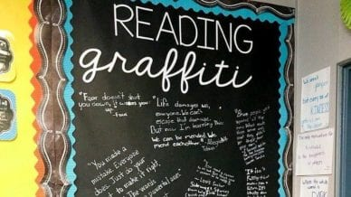 Teaching With Graffiti Walls