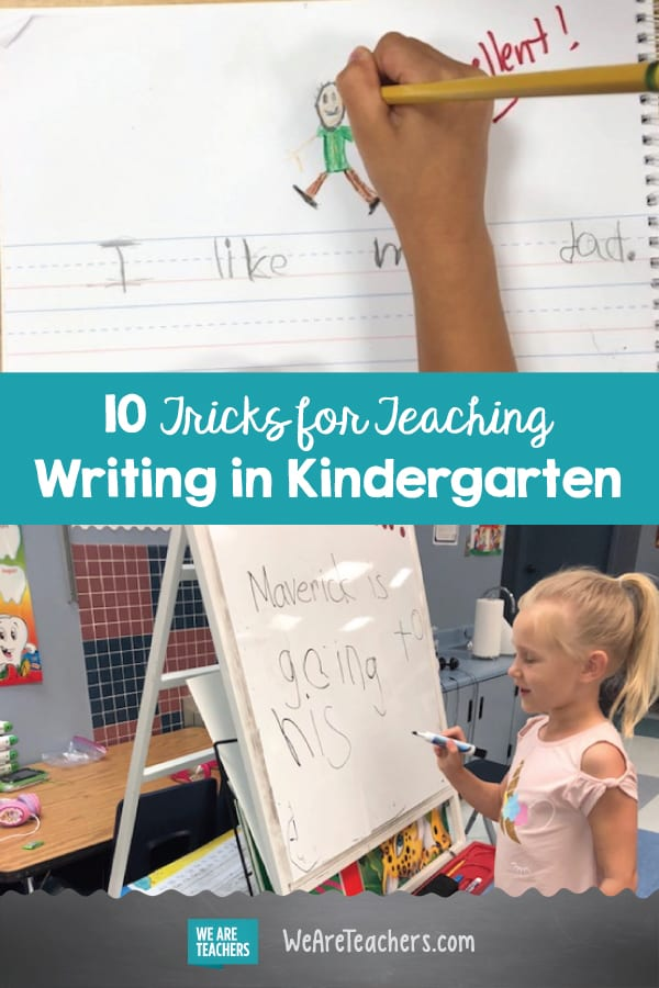 10 Tricks for Teaching Writing in Kindergarten