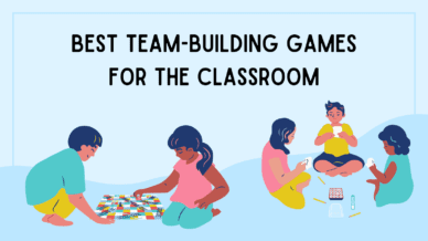 Best team-building games for the classroom.