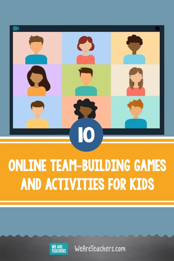 10 Online Team-Building Games and Activities for Kids