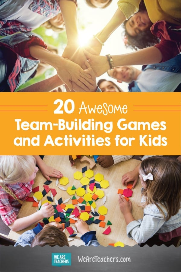 team building games and activities for the classroom weareteachers