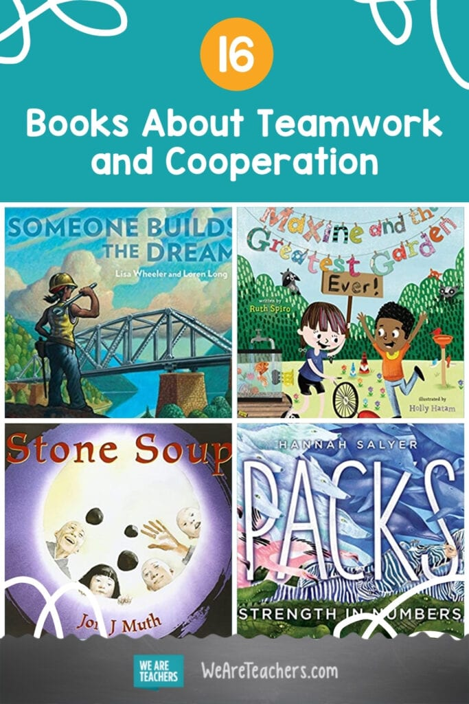 16 Books About Teamwork and Cooperation to Bring Kids Together