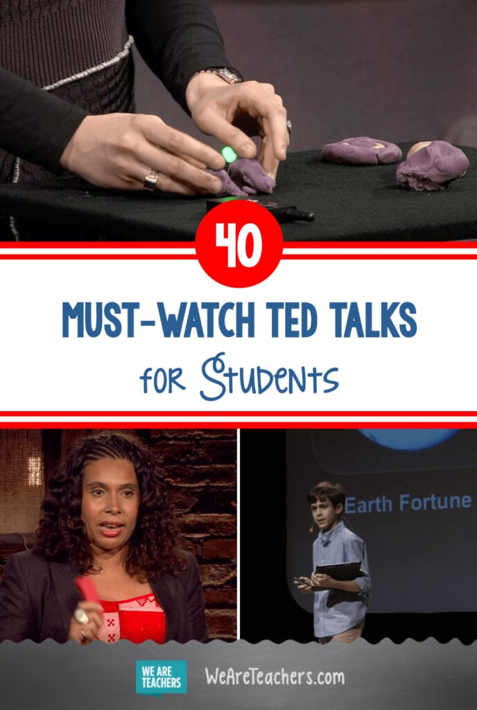 40 Must-Watch TED Talks for Students