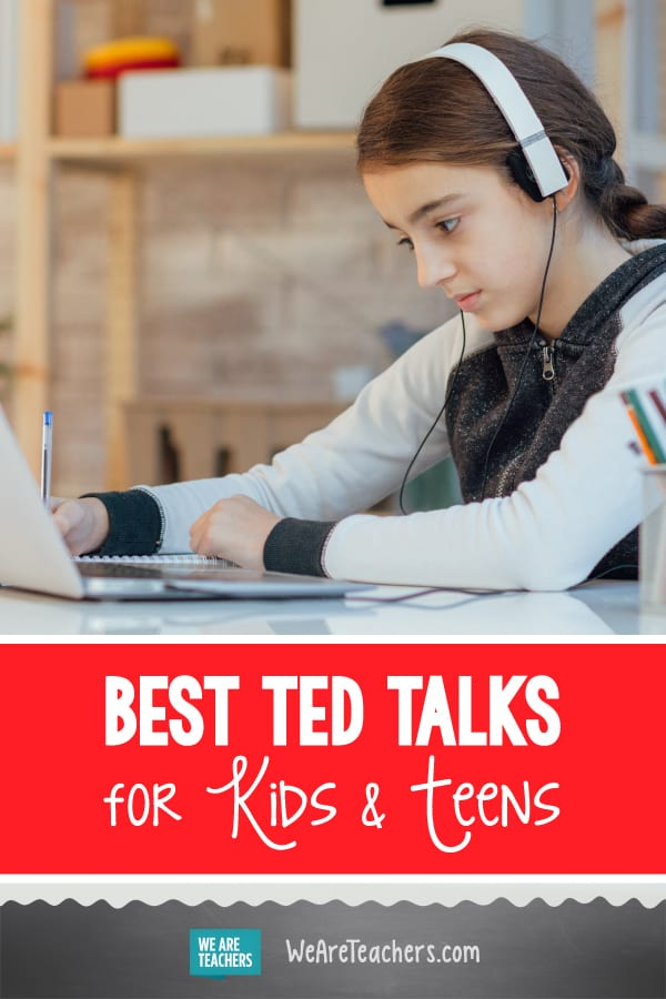 35 Must-Watch TED Talks for Kids and Teens